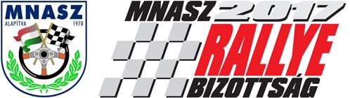 MNASz Rallye Bizottság Retina Logo