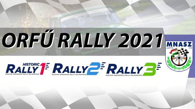 2021.03.13 - Orfű Rally 2021
