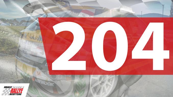 204 RÉSZTVEVŐ!
